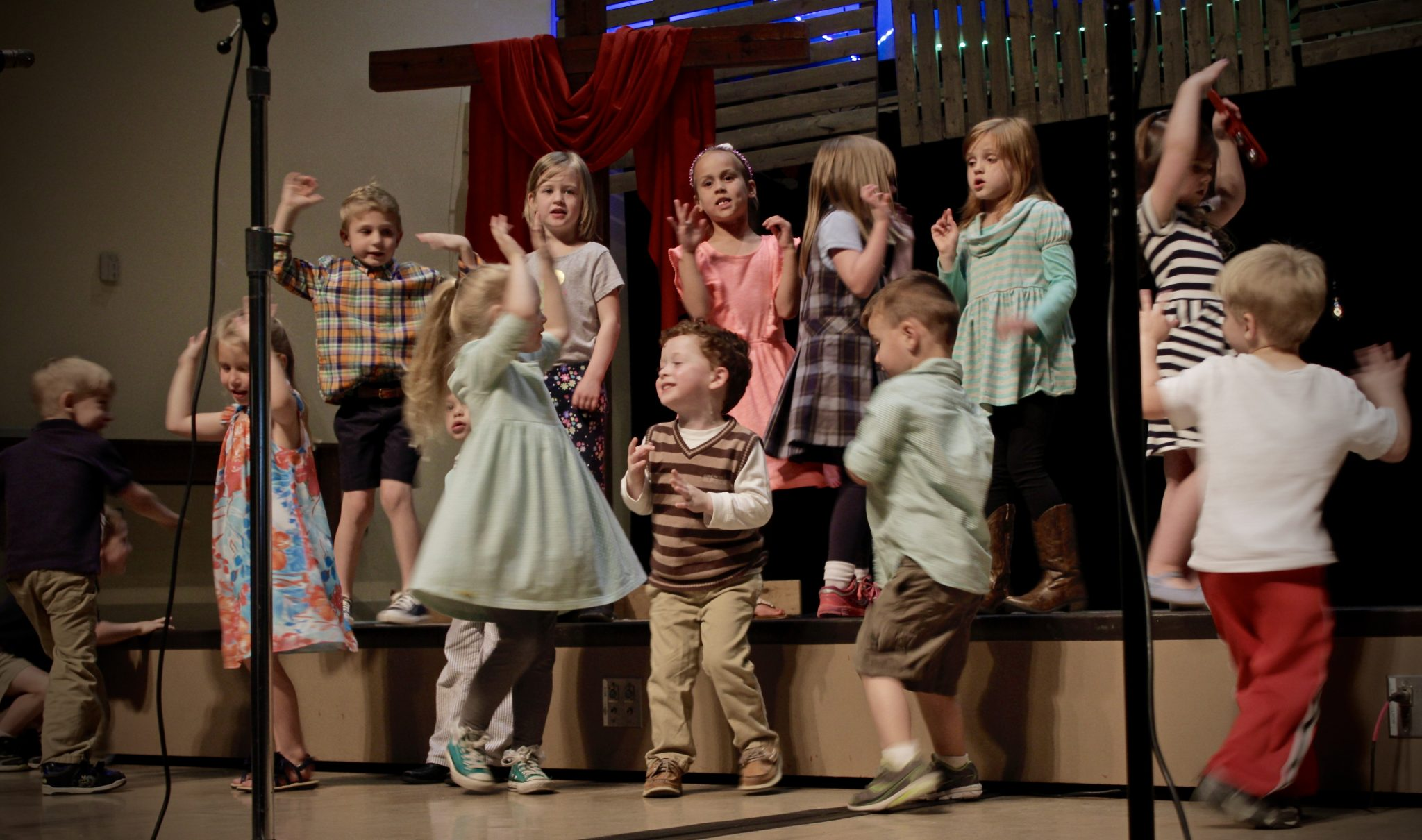 Children's music classes at St  Paul Church in Louisville, KY
